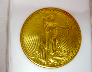 Vintage Gold Coin